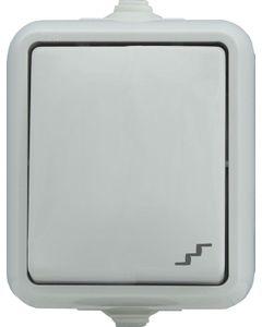 Łącznik schodowy IP44 biały KOS Hydro