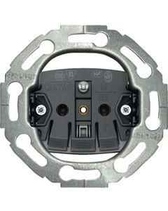 Mechanizm gniazda z uziemieniem do serii okrągłych samozaciski BERKER One.platform
