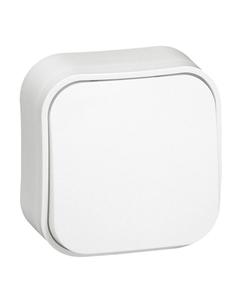 Przycisk jednobiegunowy biały LEGRAND Forix IP20